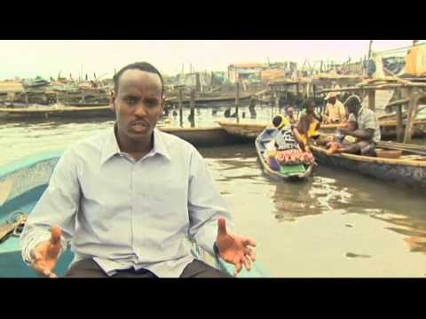 Homeless battle in Nigeria's 'water' slum