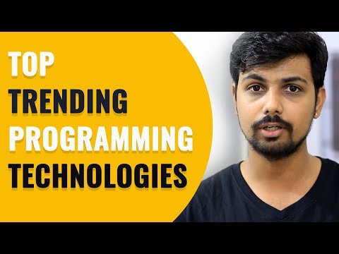 Know Top Trending 📈 Programming Technologies of This Year in Hindi | vishAcademy
