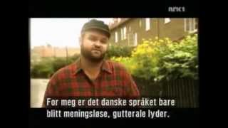 Satire over det danske sprog fra NRK (Det norske