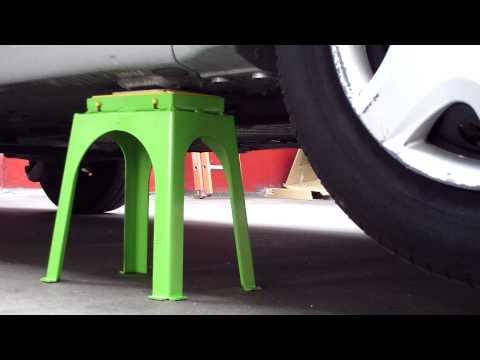 comment monter voiture sur chandelles