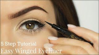 Eyeliner Tutorial | 5 Steps | TheMakeupChair - YouTube