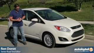 2013 Ford C-Max Hybrid Car Video Review And Test Drive