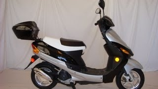 2. Full Assembly 50cc Scooter Moped Out of a Box (like a Pro)