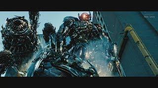 Transformers 3 (2011) - Driller/Shockwave/Skyscraper best scenes - Only action [4K]