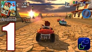 Nonton Beach Buggy Racing Android Walkthrough - Gameplay Part 1 - Easy Street 1-4 HIGH Graphics Film Subtitle Indonesia Streaming Movie Download
