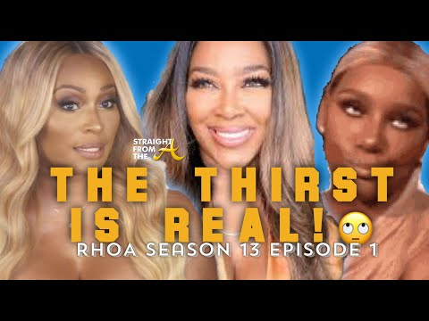 Kenya Moore is a Lezz-bun?! #RHOA Season 13 Episode 5 | Don't Come For Me Unless I Invited You