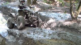 8. can am renegade 500 mudding