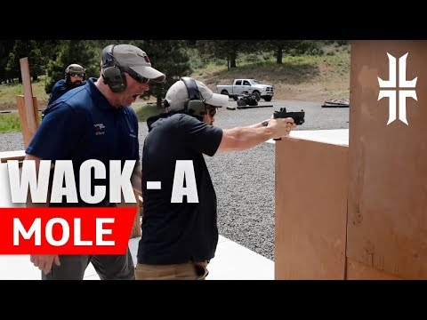 John Shoots His 'whack-a-mole' Drill