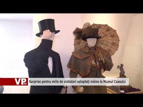 Surprize pentru miile de vizitatori așteptați mâine la Muzeul Ceasului