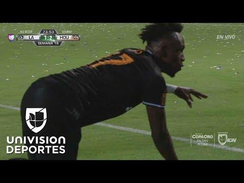 Alberth Elis saltó del banquillo para darle el segundo gol al Houston Dynamo
