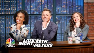 """There are some jokes that just sound wrong coming from Seth, like the one about the Catholic man who wrote a book called """"Why I Don't Call Myself Gay.""""» Subscribe to Late Night: http://bit.ly/LateNightSeth» Get more Late Night with Seth Meyers: http://www.nbc.com/late-night-with-seth-meyers/» Watch Late Night with Seth Meyers Weeknights 12:35/11:35c on NBC.LATE NIGHT ON SOCIALFollow Late Night on Twitter: https://twitter.com/LateNightSethLike Late Night on Facebook: https://www.facebook.com/LateNightSethFind Late Night on Tumblr: http://latenightseth.tumblr.com/Connect with Late Night on Google+: https://plus.google.com/+LateNightSeth/videosLate Night with Seth Meyers on YouTube features A-list celebrity guests, memorable comedy, and topical monologue jokes.NBC ON SOCIAL Like NBC: http://Facebook.com/NBCFollow NBC: http://Twitter.com/NBCNBC Tumblr: http://NBCtv.tumblr.com/NBC Pinterest: http://Pinterest.com/NBCtv/NBC Google+: https://plus.google.com/+NBCYouTube: http://www.youtube.com/nbcNBC Instagram: http://instagram.com/nbctvJokes Seth Can't Tell: First Black Valedictorian, Gay Icon Babadook- Late Night with Seth Meyershttps://youtu.be/KltgGcDPqvoLate Night with Seth Meyershttp://www.youtube.com/user/latenightseth"""