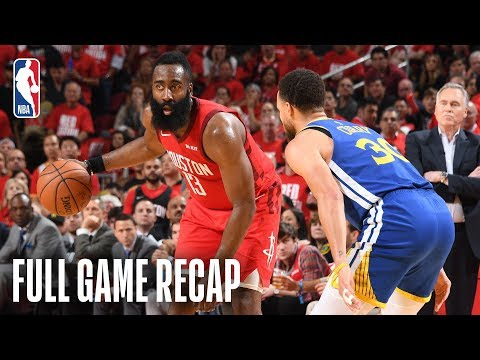 WARRIORS vs ROCKETS | Houston Holds Serve | Game 4