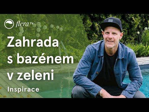 Zahrada s bazénem v zeleni | Inspirativní zahrada | Flera TV