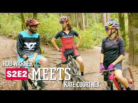 ROB MEETS: mountain biker Kate Courtney | E2 (видео)