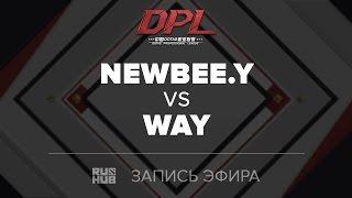 Newbee.Y vs WAY, DPL.T, game 2 [Tekcac]