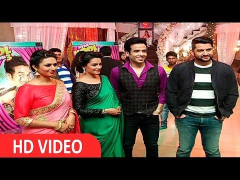 Cast Of Kya Kool Hai Hum 3 Visit Ye Hai Mohabbatein Set