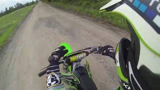 7. The Monster Energy KX250 Top speed run!