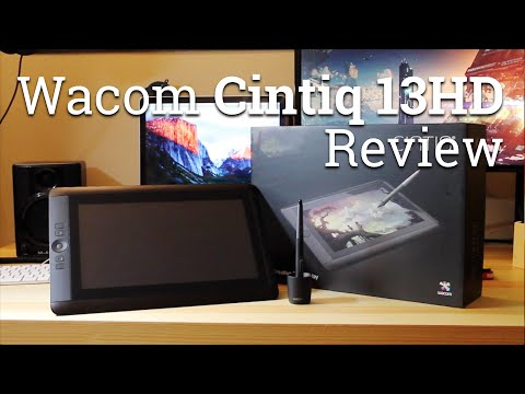 Wacom Cintiq 13HD - Pen Tablet Display Review