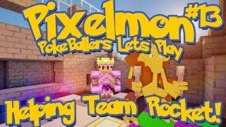 Pixelmon Server Minecraft Pokemon Mod Pokeballers Lets Play! Ep 13 The Poison Gym!