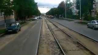 Ulyanovsk Russia  City pictures : Ulyanovsk tram ride
