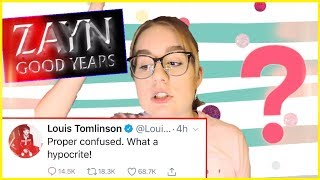 Video DID ZAYN SHADE ONE DIRECTION IN HIS NEW SONG, DID LOUIS SHADE ZAYN IN A TWEET, ANALYSIS OF ZOUIS MP3, 3GP, MP4, WEBM, AVI, FLV Desember 2018
