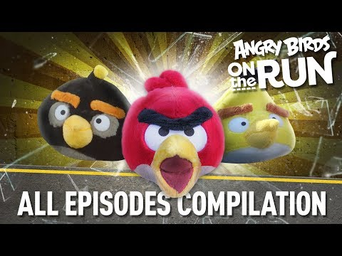 Angry Birds on The Run | All Episodes - Total Mashup Special