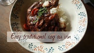 How to make coq au vin