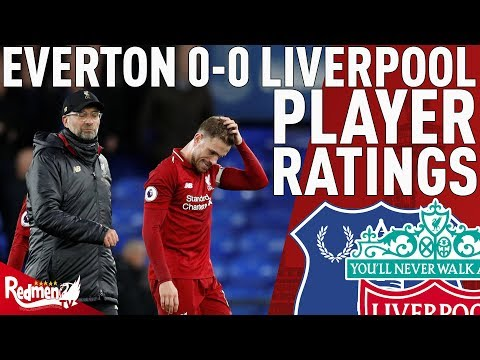 Too Many Poor Performances | Everton V Liverpool 0-0 | Player Ratings