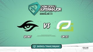 Secret vs OpTic, Super Major, game 1 [Maelstorm, Lum1Sit]