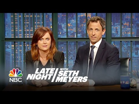 Amy Poehler and Seth Reunite for a New Really!?! – Late Night with Seth Meyers