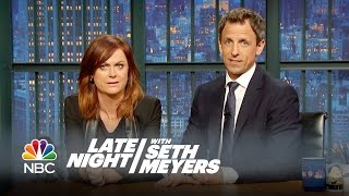 Video Amy Poehler and Seth Reunite for a New Really!?! - Late Night with Seth Meyers MP3, 3GP, MP4, WEBM, AVI, FLV Juli 2018