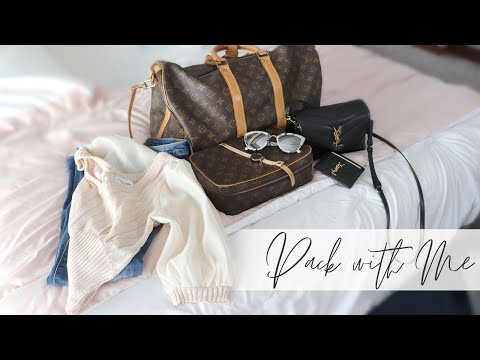 Pack With Me for One Night Out of Town!