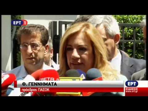 Δήλωση της Φ. Γεννηματά μετά τη συνάντηση με τον Πρωθυπουργό