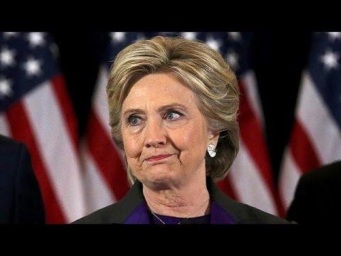 Клинтон надеется, что Трамп станет успешным президентом (видео)