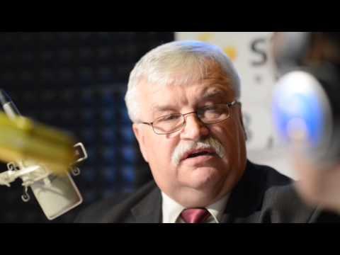 """Mówił o tym w programie """"O tym się mówi"""" Strefy FM, Stanisław Baryła, burmistrz miasta i gminy Sulejów. - 0"""