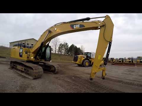CATERPILLAR EXCAVADORAS DE CADENAS 349FL equipment video KmKQMyTzxos