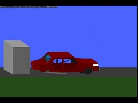 Phun 3D Crash Car