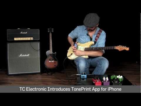 TC Electronic TonePrint App - Beam It.