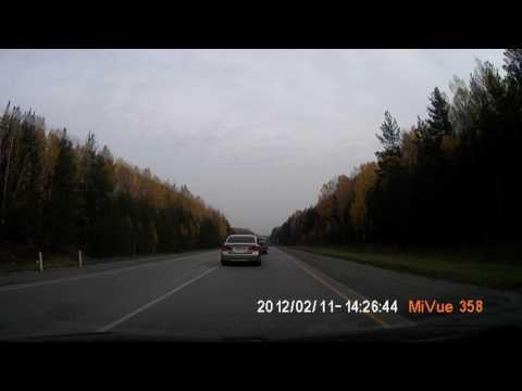 Авария при попытке двойного обгона с 3.15