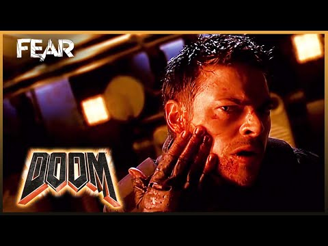 First Person Shooter Sequence (Full Scene) | Doom (2005)