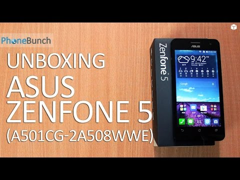 Asus Zenfone 5 with Dual-core 1.2 Ghz Intel Atom Z2520 Unboxing and Quick Review