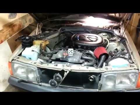 How to replace Blower motor Mercedes W201 190e