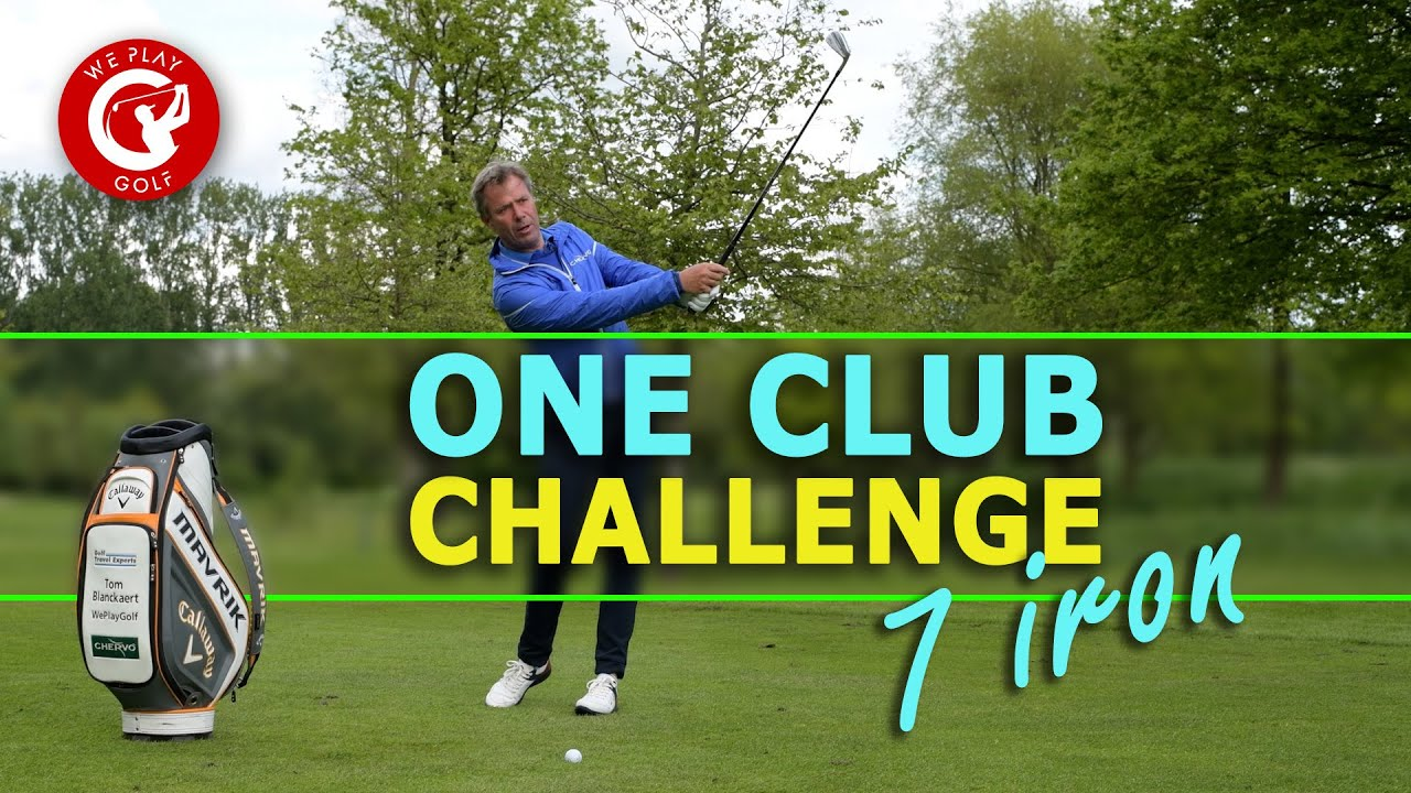 One Club Challenge - Play a par 4 with only a 7 iron