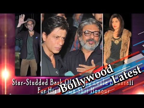 Star-Studded Bash Of Sanjay Leela Bhansali For His