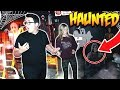 EXPLORING A HAUNTED MOVIE THEATRE! (SCARY)