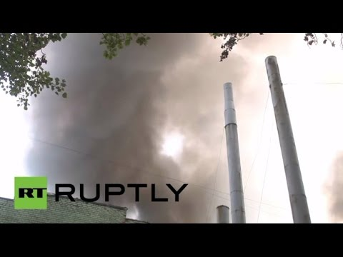 Army - A Donetsk factory, founded back in 1916, caught fire after a shelling attack on Monday as the Kiev military operation in eastern Ukraine continues. The Toch Mash factory specializes in the...