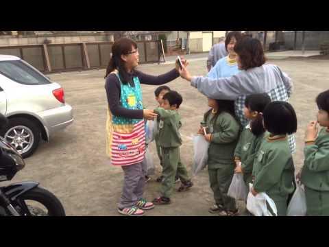 2014年節分 金剛院・七日市幼稚園