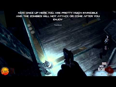 Call of Duty Black Ops 2 Zombie Glitches - *NEW* Ontop of Barn on