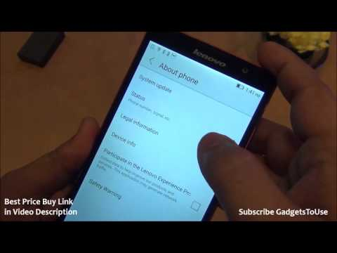 Lenovo P90 Hands on Review, Camera, Features and Overview