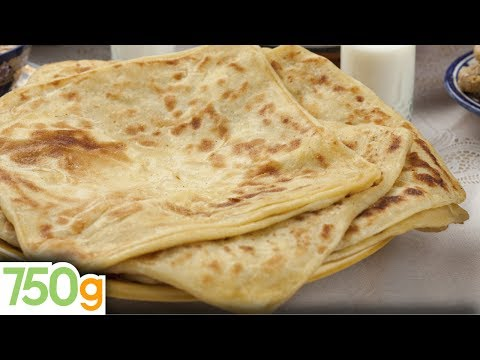 crpe marocaine - De tendres crpes feuilletes Marocaines ... La recette hyper simple pour les russir et vous rgaler avec ces msemmens ! Une recette propose par Chef Damie...